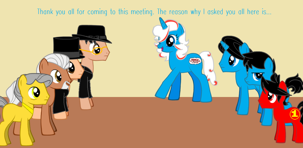 The Meeting Part 1 by JadeTheDayDreamer