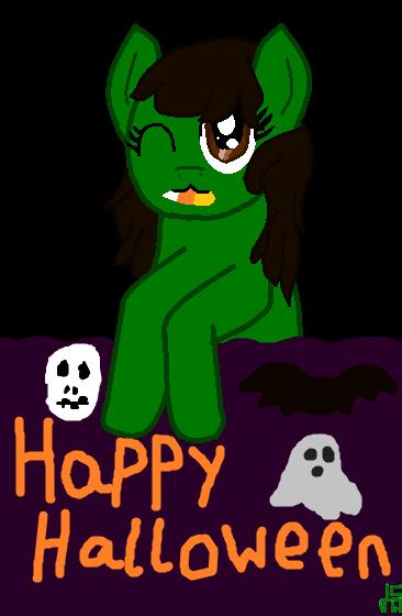 Happy Halloween by JadeTheDayDreamer
