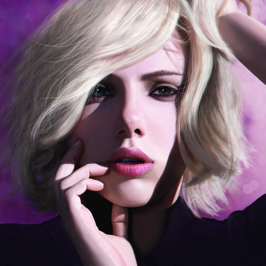 Scarlett Johansson by de-MAX