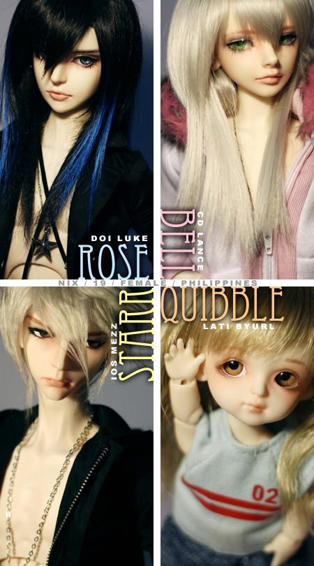 Four by dollstars