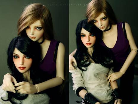 Girlfriends by dollstars