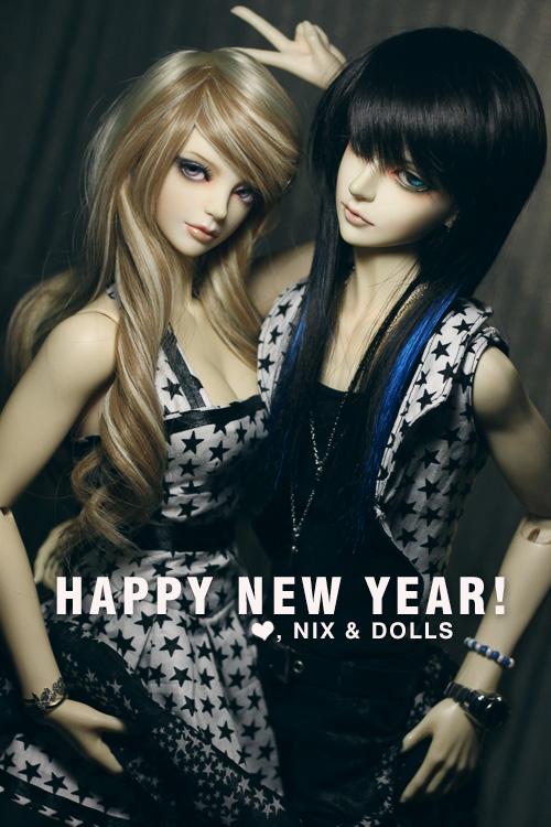 Happy Starry New Year! by dollstars