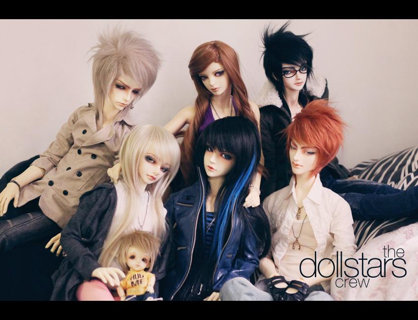 The Dollstars Crew by dollstars