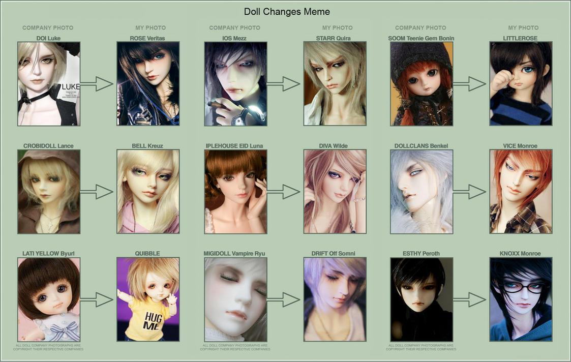 Doll Changes Meme 2013 by dollstars