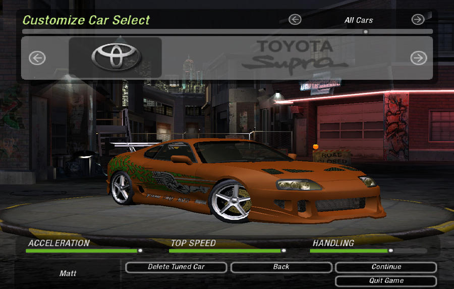 What made you fall in love with the MKIV Supras?