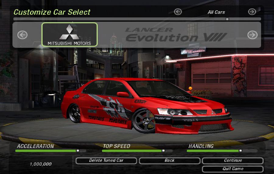 Need For Speed Underground  Car Mod Installer