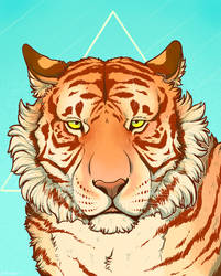 Golden Tiger by Minionwolf711