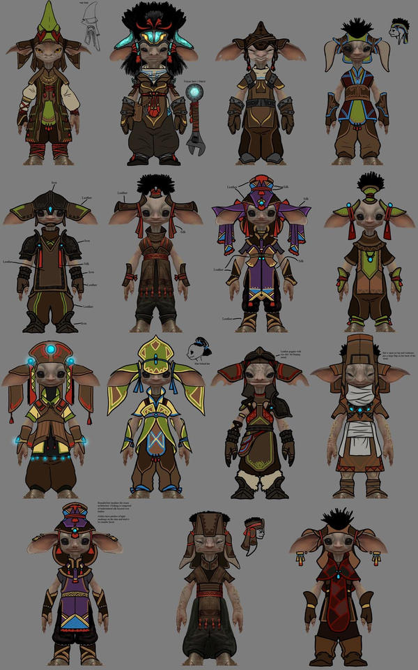 Guild Wars Asura Concepts by goosezilla