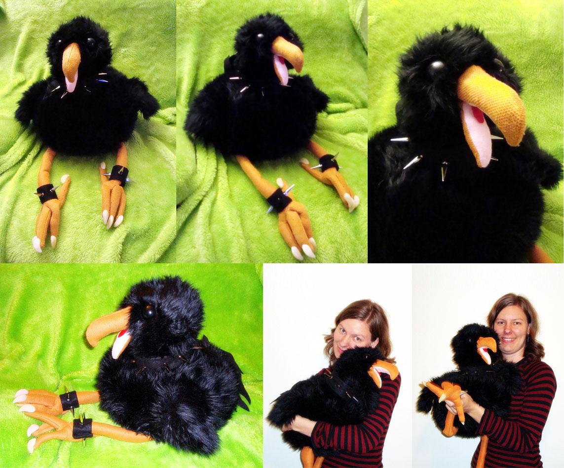 Moa Chick Puppet by goosezilla