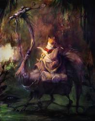 Lost Fox by goosezilla