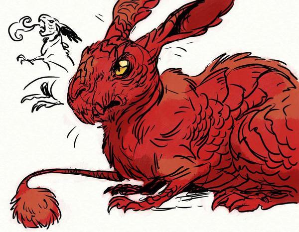 Dragon bunny by goosezilla on deviantart dragon bunny by goosezilla altavistaventures Image collections