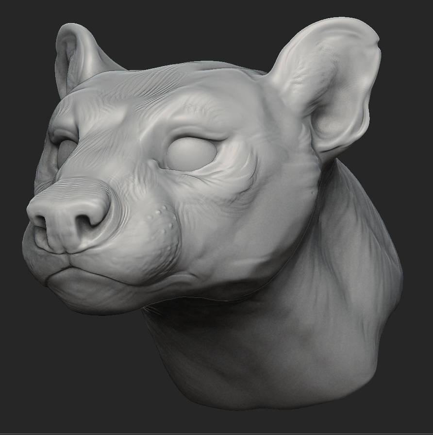 fossa zbrush sculpt by goosezilla on DeviantArt