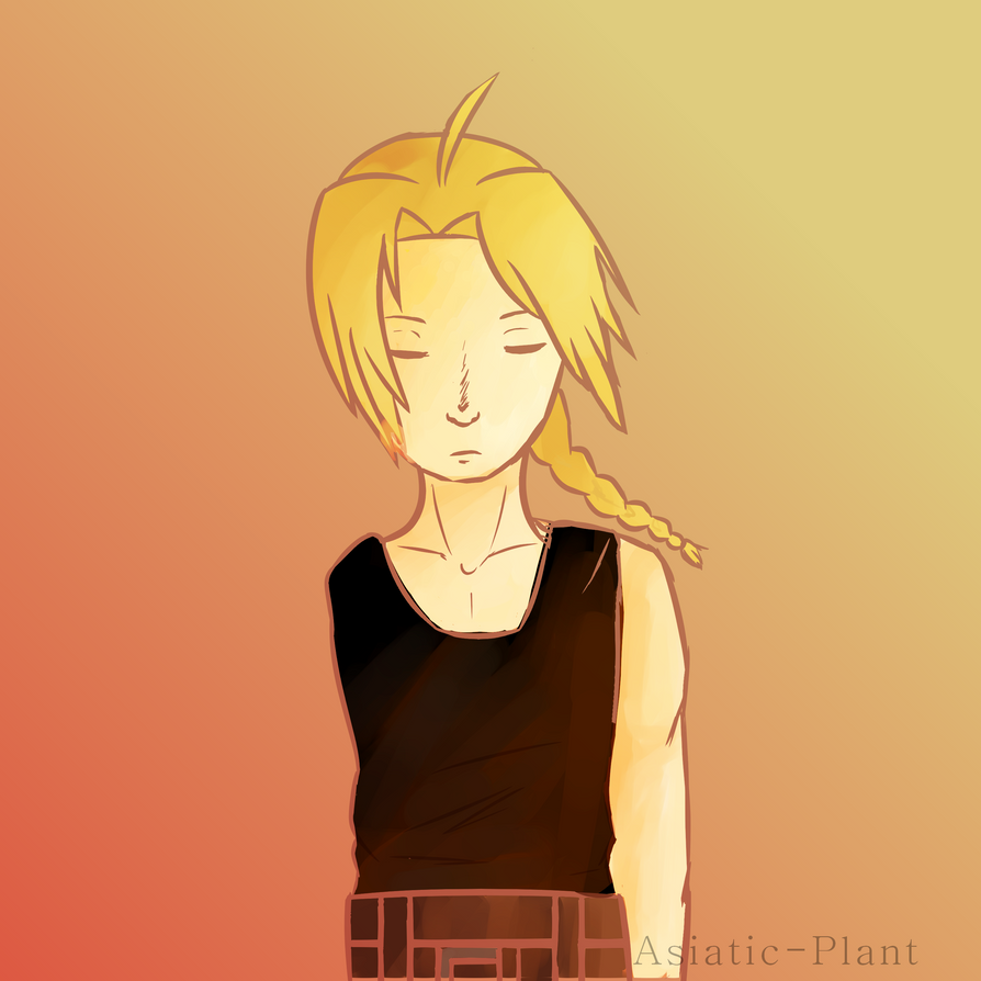 Edward Erlic from Fullmetal Alchemist by Asiatic-Plant