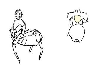 Ananasi Character by TlysKae