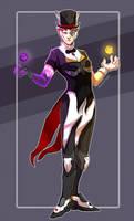 Skin Swap- Magician Moira by NoiteAzul