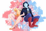 Bubbline - blue and red 2/3