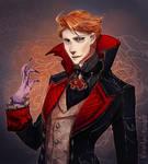 Vampire Moira - (oops I'm late)