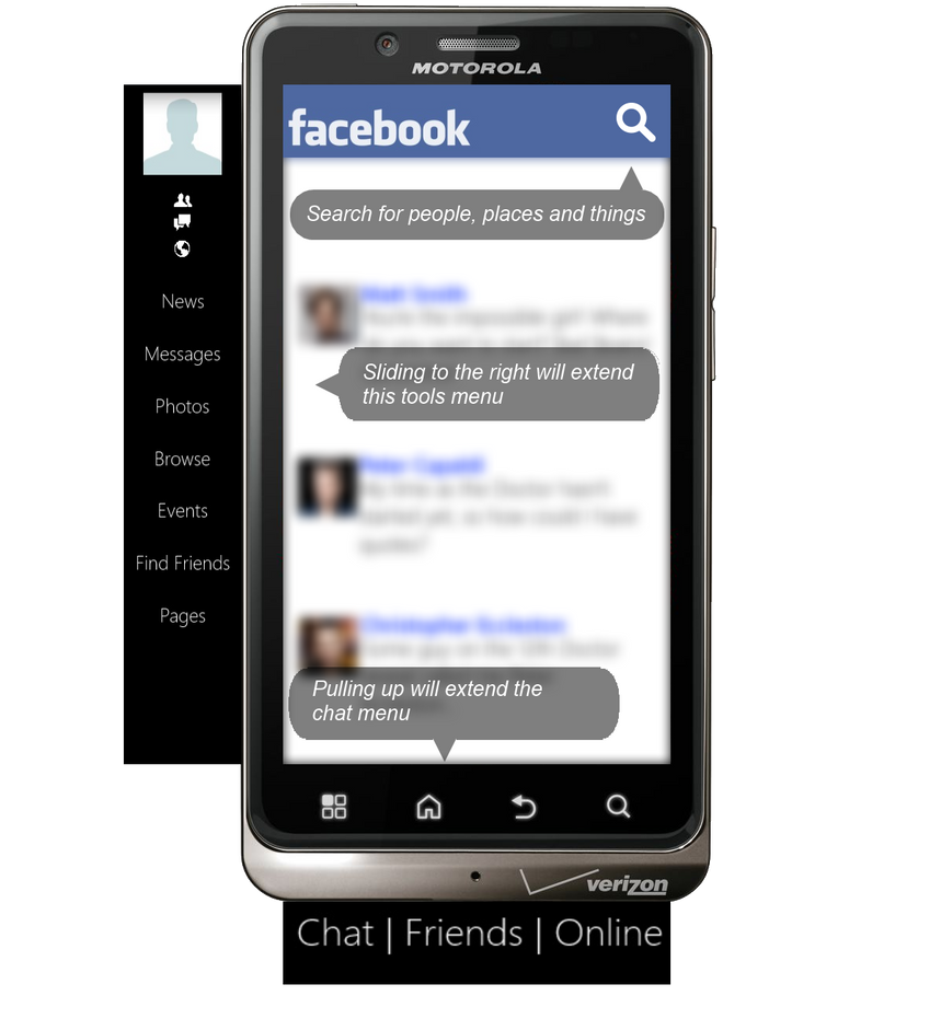 Mobile facebook redesign by incautusofficial on deviantart for Redesign my room app