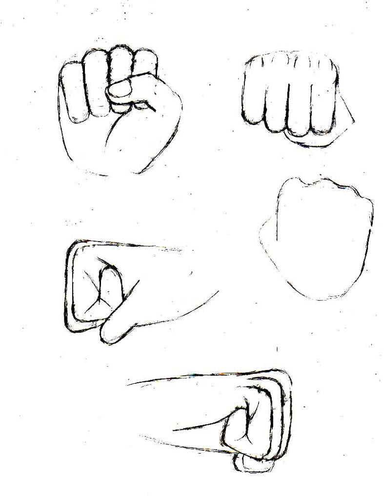 hand reference pg: fist 1 by Oxdarock on DeviantArt