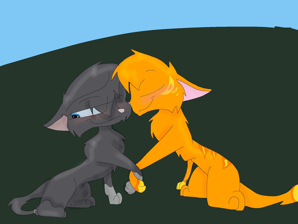 Fireheart and Cinderpaw by Superstar460Fireheart And Cinderpaw
