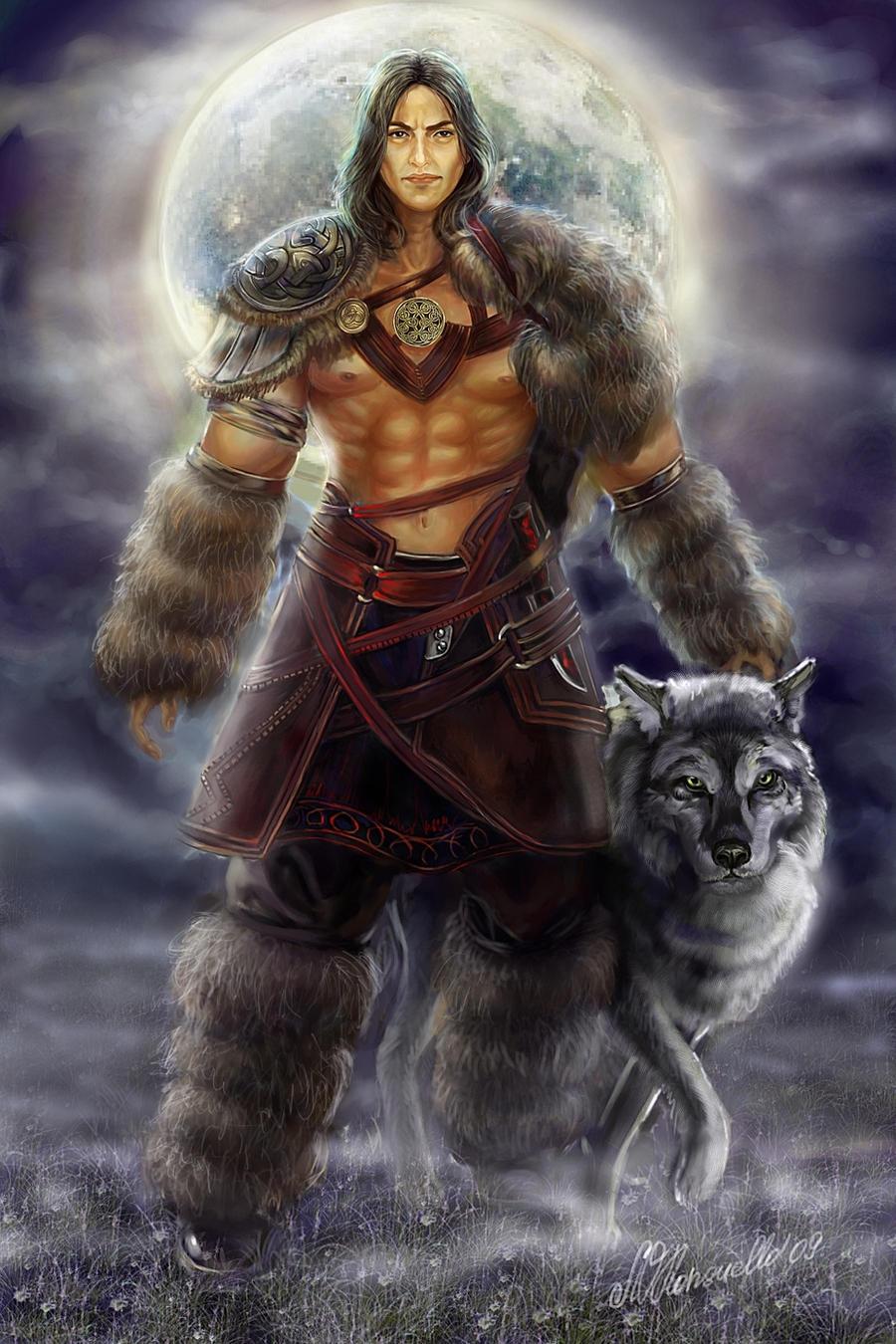 Fantasy warrior men - photo#9