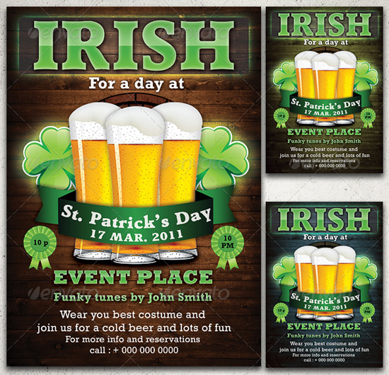 St Patrick's Day Flyer Template By CoolFlyers On DeviantArt