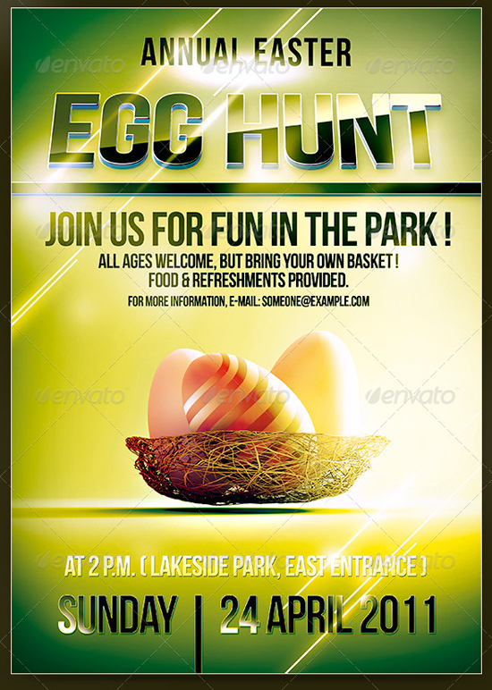 Easter Party   Flyer Template By CoolFlyers ...