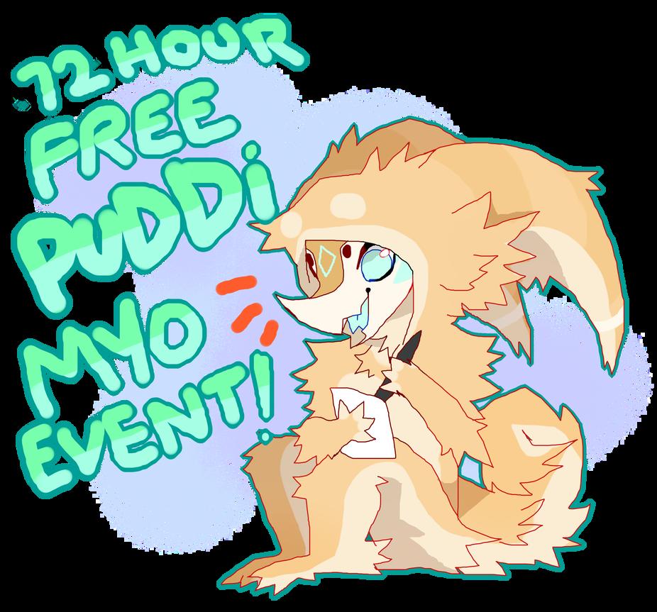 72 Hours Free Puddi Myo Event  Open  By Poduk Dd28 by LadyNightLight
