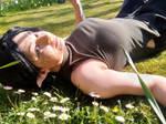 A field of daisies by LadyNightLight