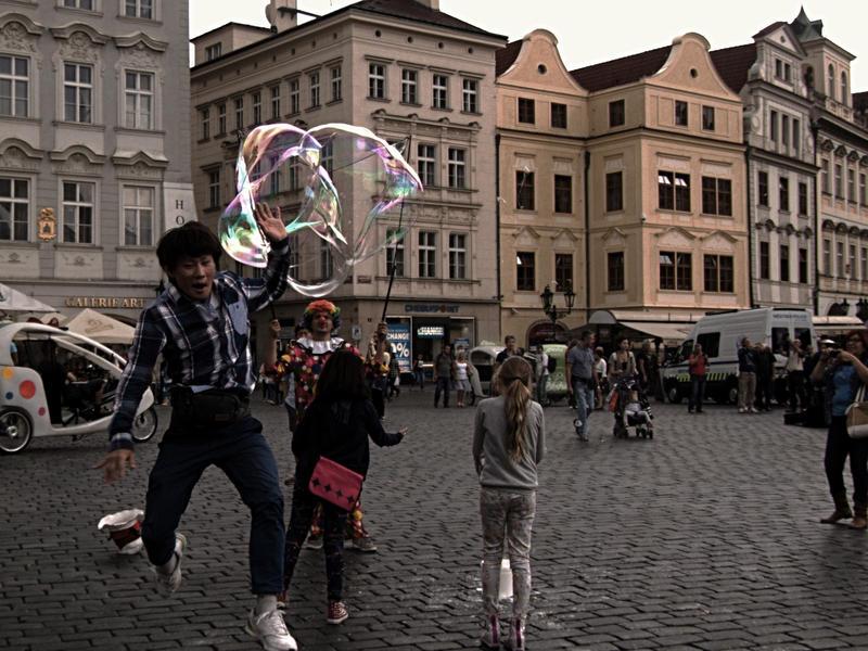 Chasing the bubbles 2 by ChiyoMiya