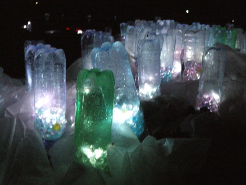 the bottles light 3 by ChiyoMiya