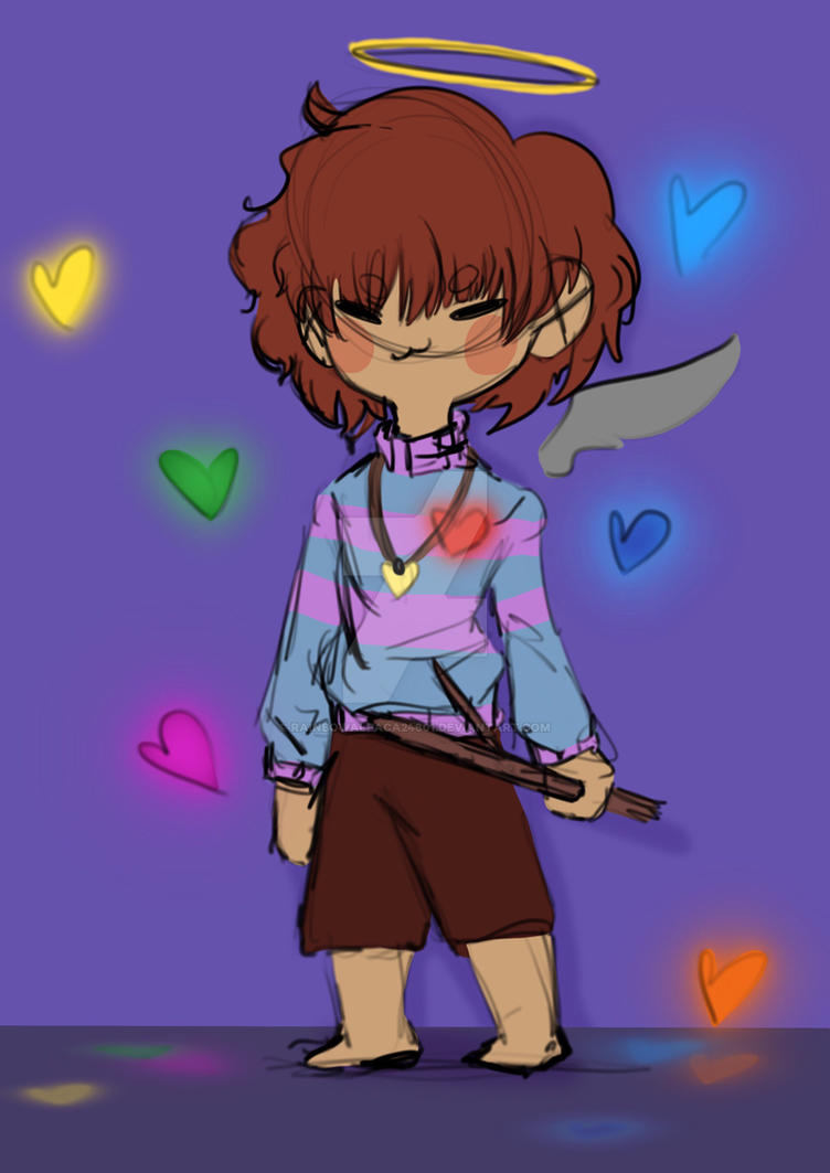 Frisk by Rainbowalpaca24601