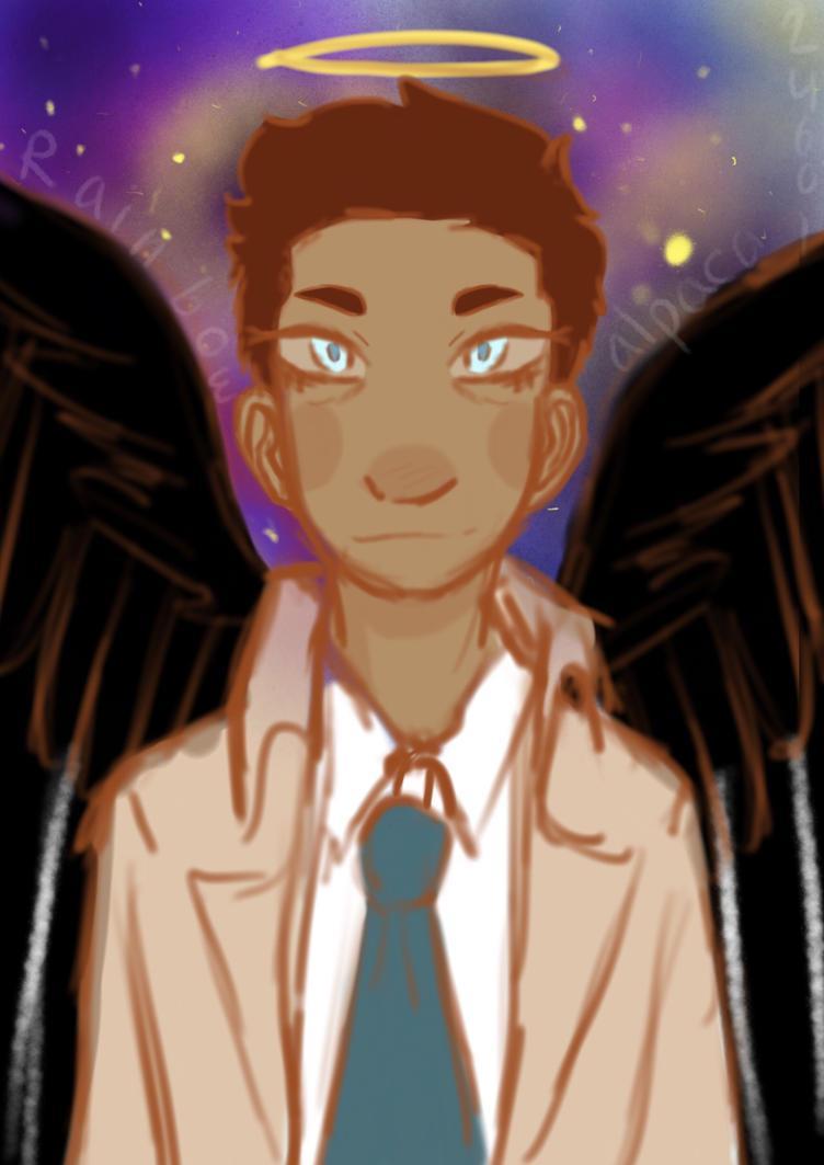 Castiel  by Rainbowalpaca24601