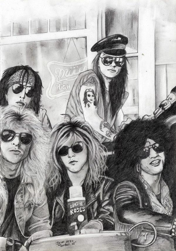 Guns N' Roses by deanaxlrose