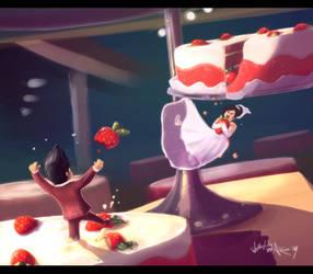 Wedding Cake Dream by Aikuza