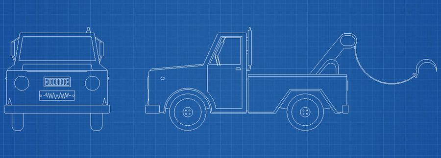 Truck Blueprints by pelle131313