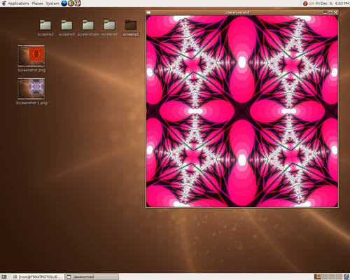 here is a fractal  - 1