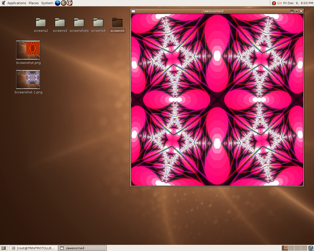 here is a fractal  - 1 by dbqpdb