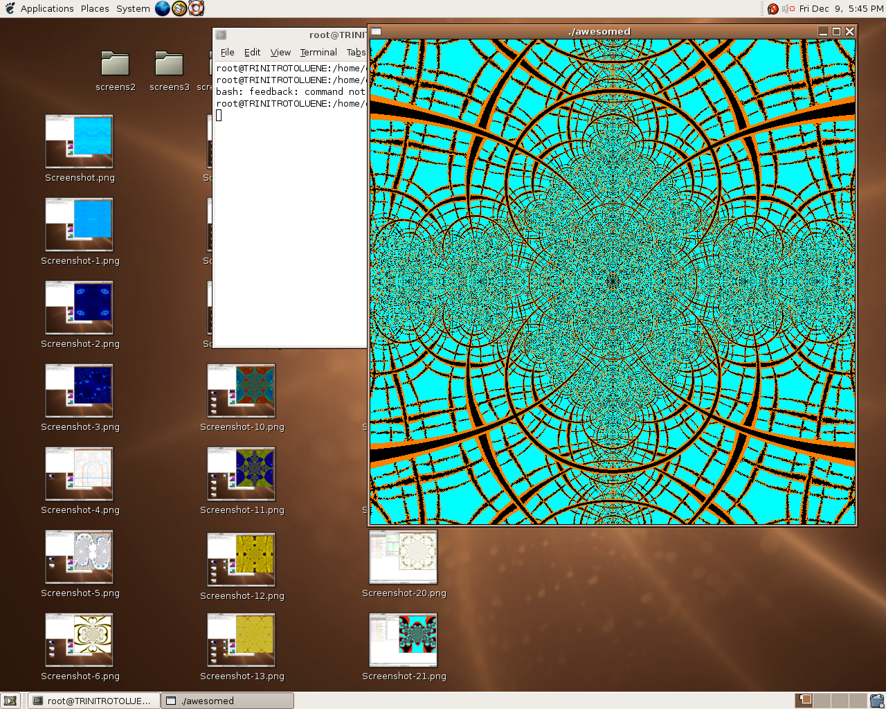 here is a fractal - 5