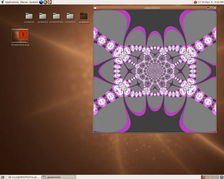 here is a fractal - 8