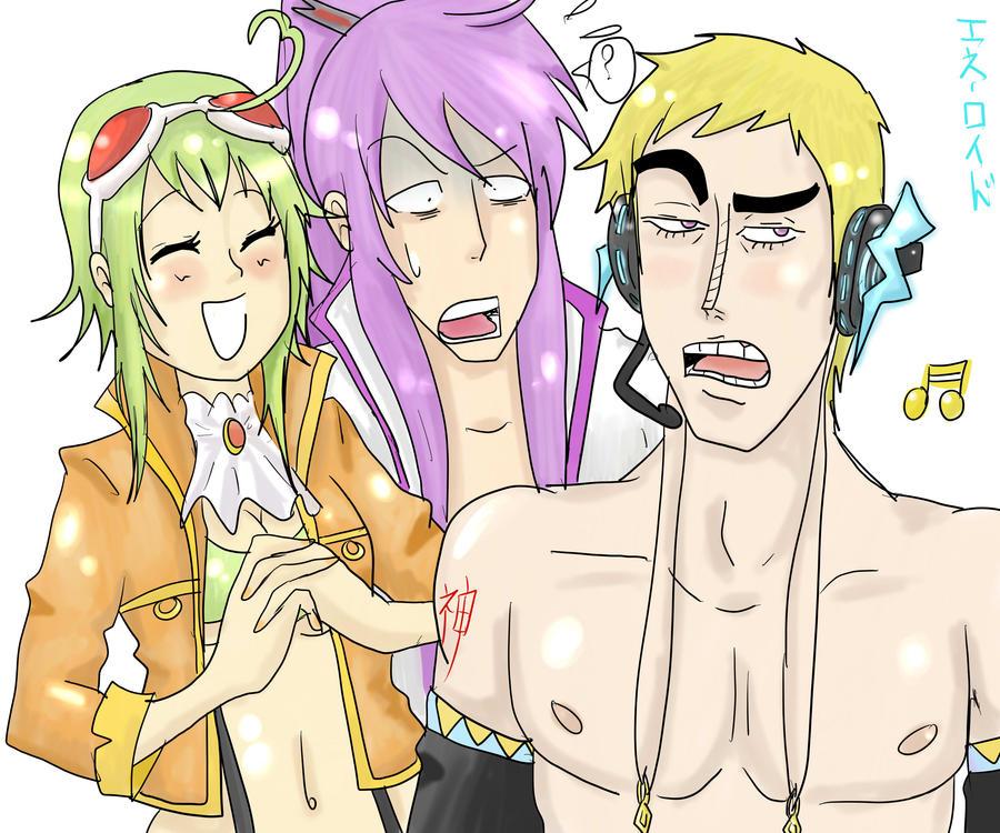 Vocaloid lvl God by GumiDJones