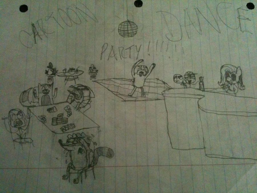 Cartoon Dance Party! by puppylovesanimals