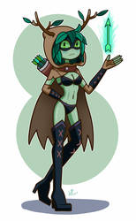 Sexy Huntress Wizard