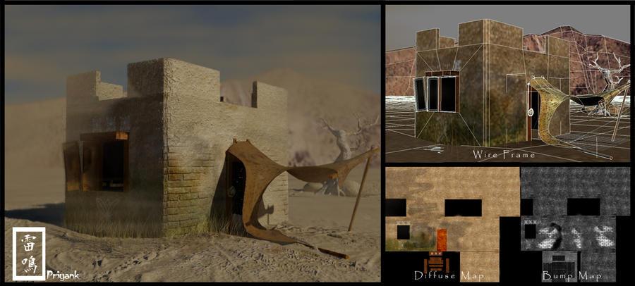 Desert scene by PT200