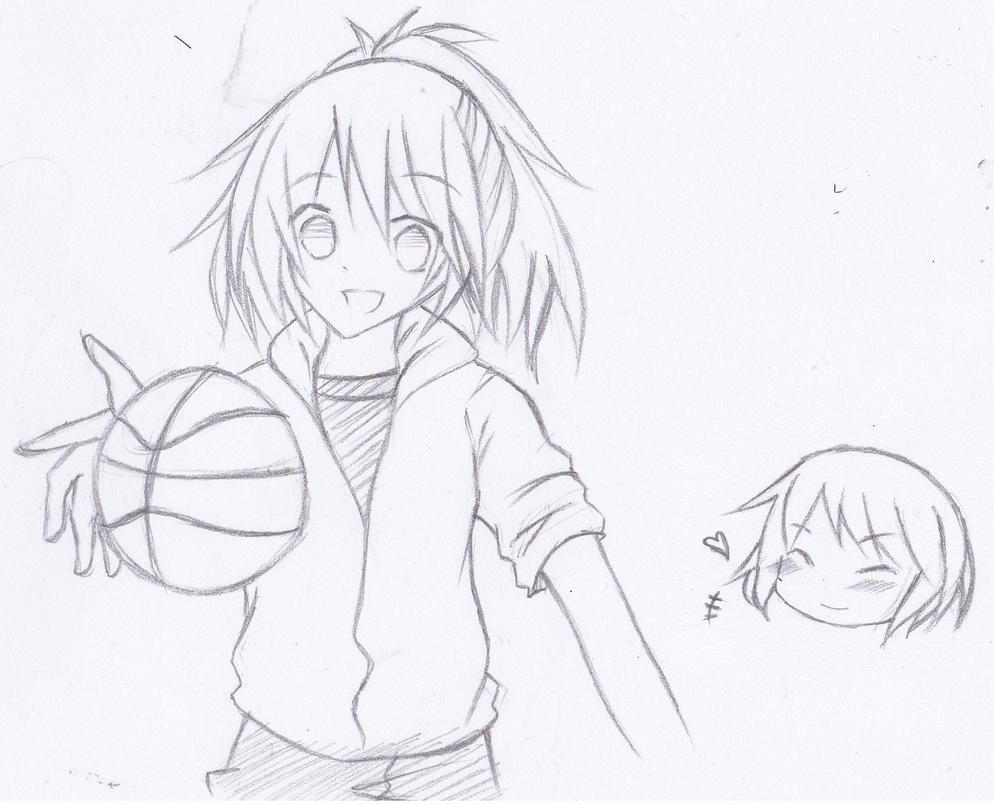 Playing Basketball By KuroNeko987 On DeviantArt