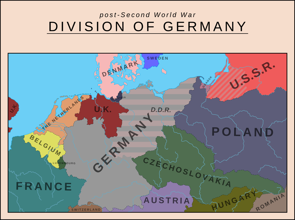 an analysis of the division of germany after the defeat in world war ii Germany, battle of the bulge battle in world war ii overview of germany, battle of the bulge by phd students from stanford, harvard, and berkeley.