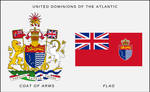United Dominions of the Atlantic arms and flag