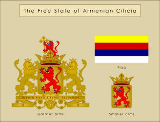 Free State of Armenian Cilicia by SoaringAven