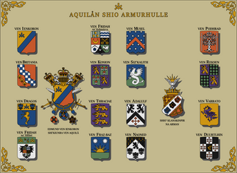 Armorial of the Aquilaan Empire