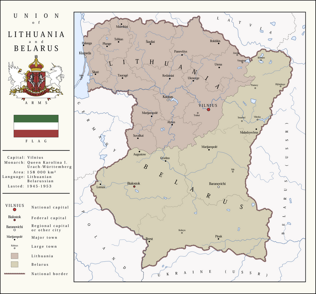 union of lithuania and belarus by soaringaven